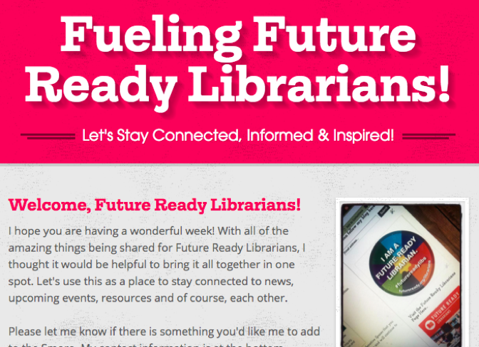 Future Ready Librarians Newsletter