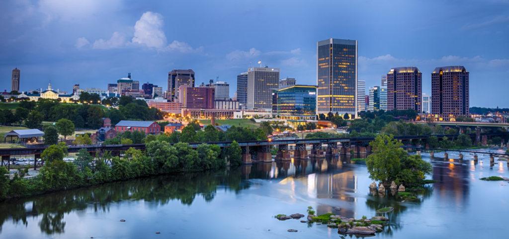 Downtown Richmond, Virginia