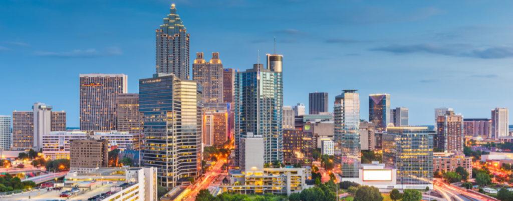 Atlanta, GA cityscape