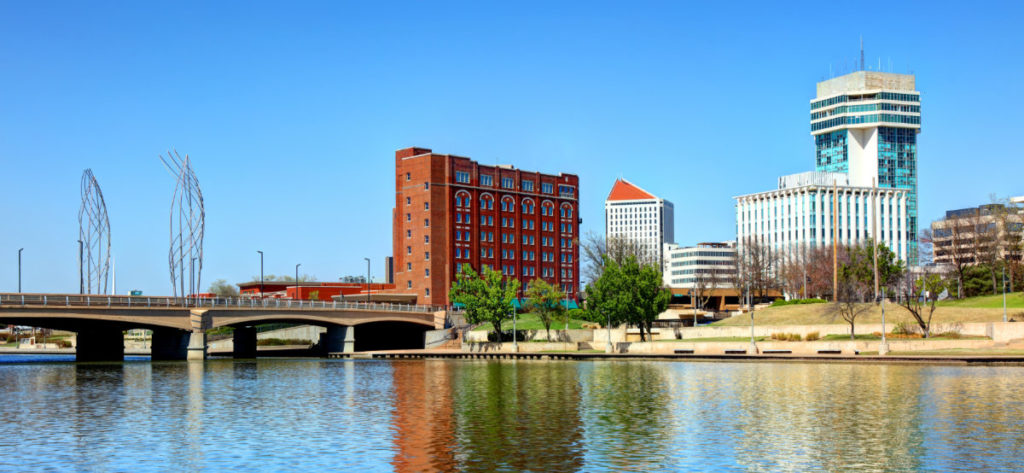 Wichita, Kansas cityscape